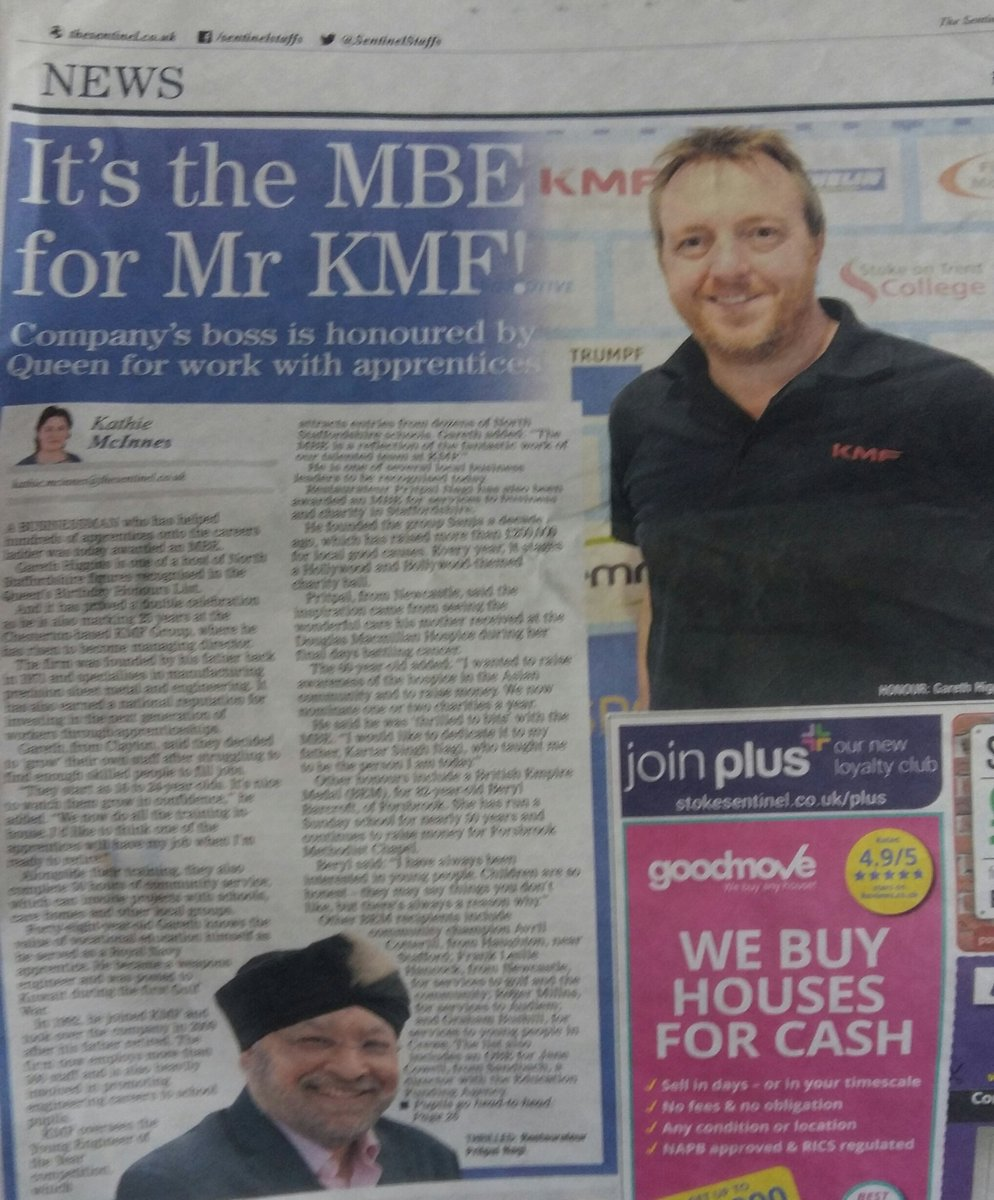What&#39;s the best thing you&#39;ve done this week? I did the PR for a Staffordshire businessman&#39;s MBE announcement #PR #SmallBizHour<br>http://pic.twitter.com/m2UAW4hnSH