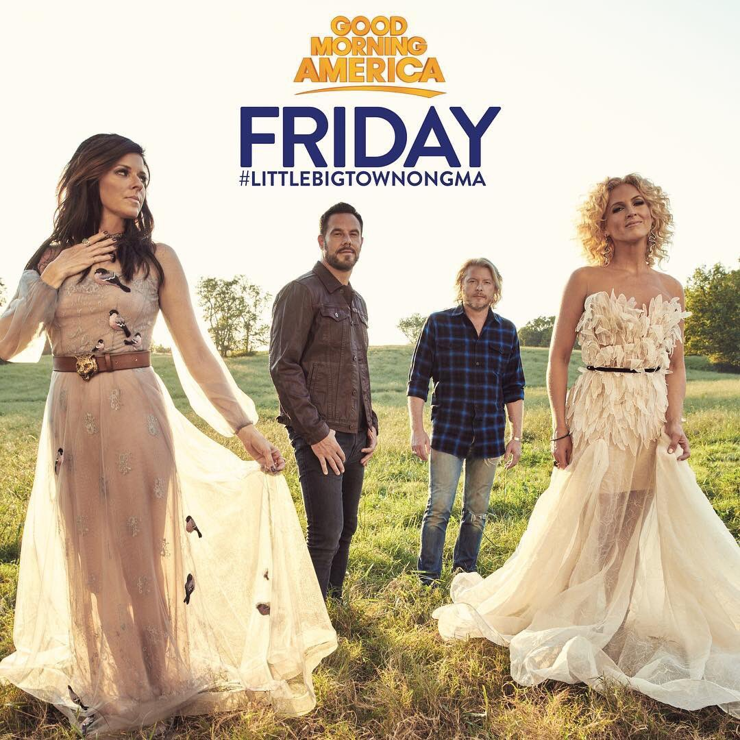 See you on Friday in the park! 🌳#littlebigtownongma https://t.co/8n0Za...