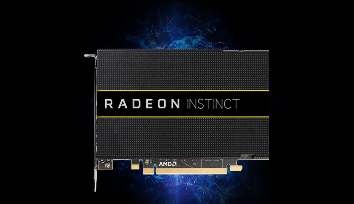 The Radeon Instinct MI8 is ideal for #datacenter deployments of inference applications for #machineintelligence.  http:// instinct.radeon.com/product/mi/rad eon-instinct-mi8/ &nbsp; … <br>http://pic.twitter.com/Ochc8xiGpO