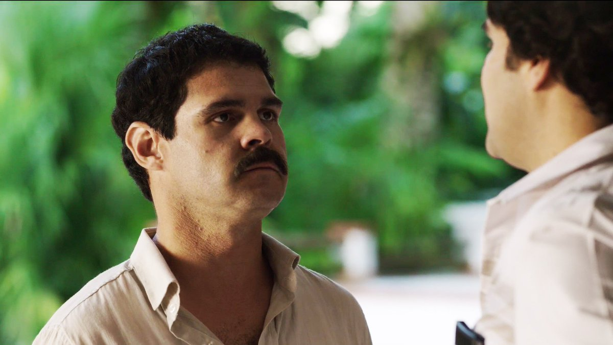 Pablo Escobar tested the power of  @ElChapoLaSerie to traffic his drug. #ElChapoTV https://t.co/yFCBTYcXBc