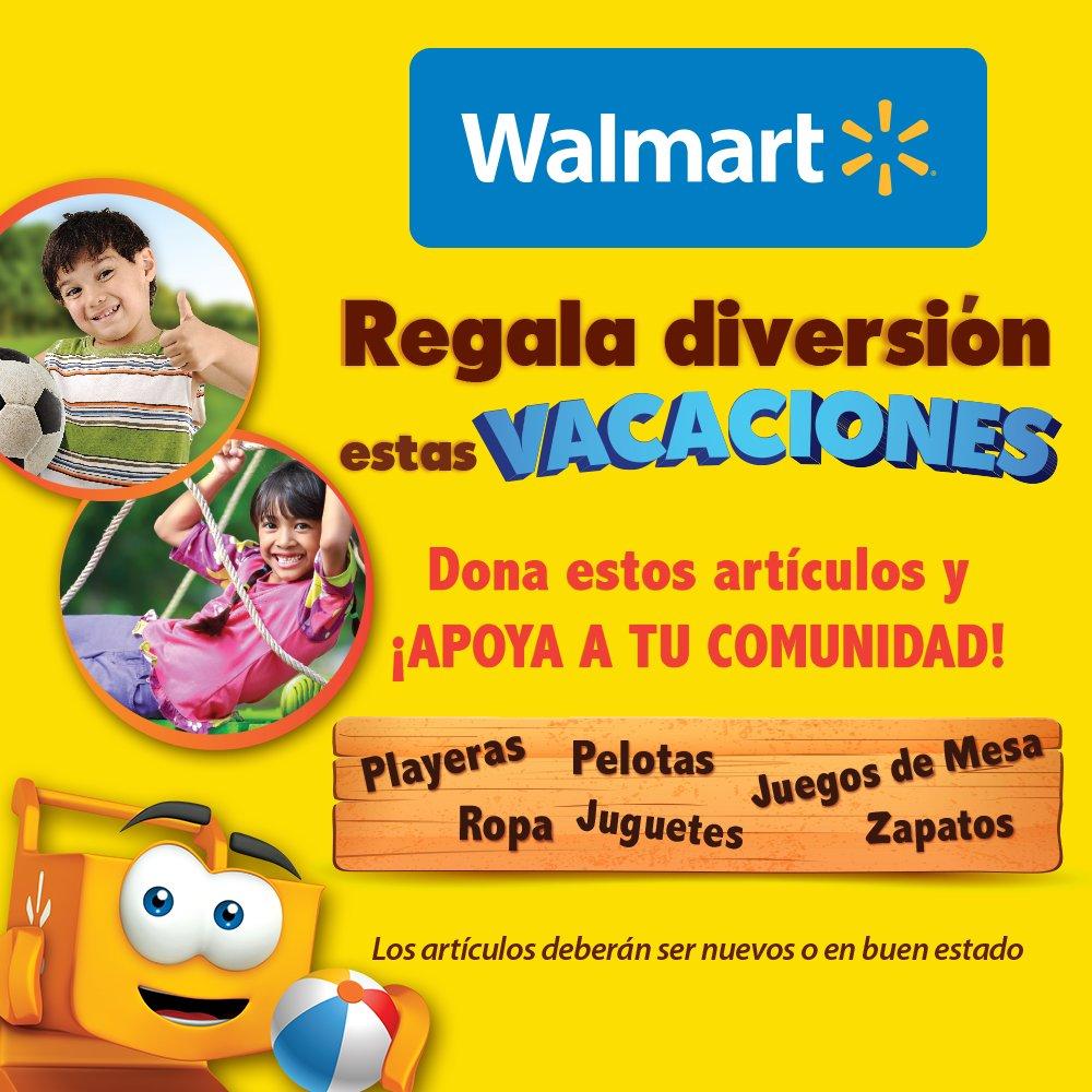 Walmart Mexico On Twitter Regala Diversion Estas Vacaciones Apoya