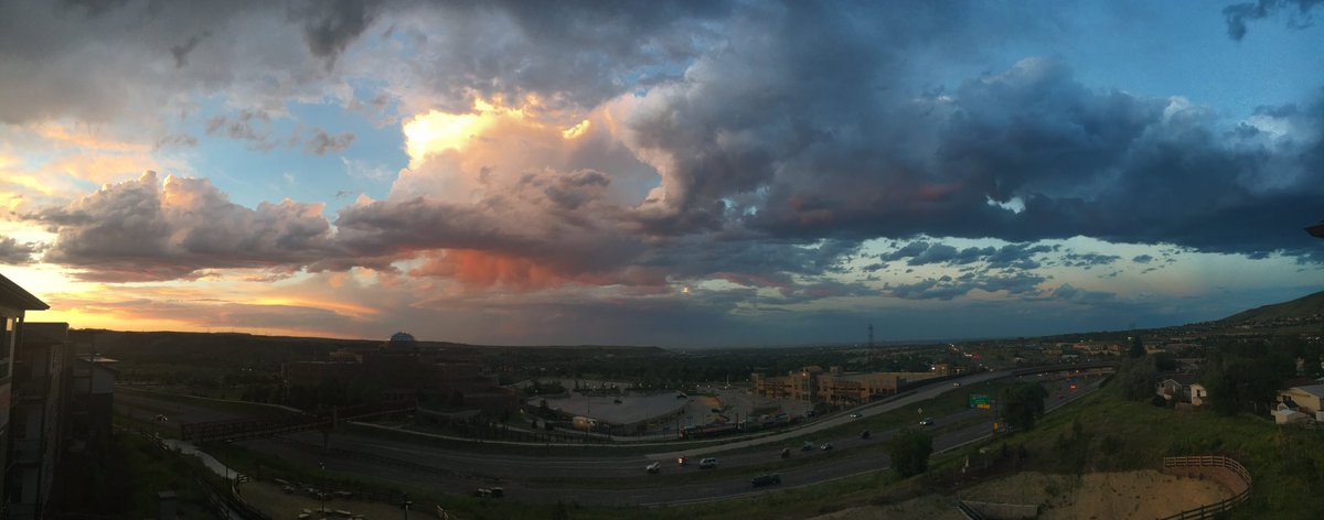 Panaramic shot from #Golden. @chris_tomer @MattMakens @KathySabine9 @theWXwoman @weather5280 @WeatherNation @Colorado<br>http://pic.twitter.com/fqzwcrndlk