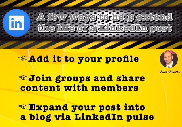Extend your #LinkedIn posts! [#makeyourownlane #startups #DigitalMarketing #Mpgvip #defstar5 #SEO #SMM #socialmedia #marketing #content]<br>http://pic.twitter.com/KwwjZDXBow