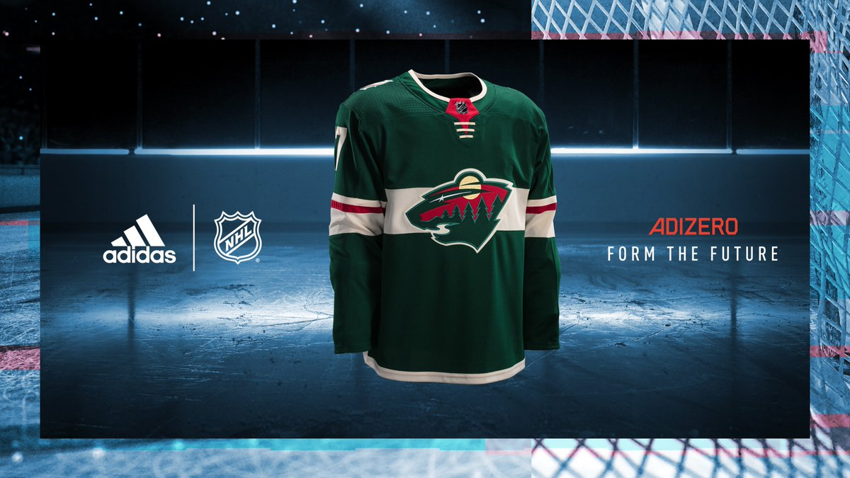 These #mnwild sweaters are 💯 → https://t.co/tRKWBs3JJj #FormTheFuture...
