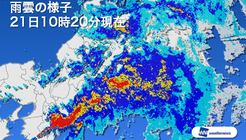 "dzmr7EkykbQ9N 太平洋側で大雨 和歌山で""観測史上1位"" 和歌山県は1時間に80ミリ以上の猛烈な雨 24時間雨量は400ミリを越えている 和歌山県と静岡県では川の水位が上昇し、氾濫危険水位を超えている川があります。"