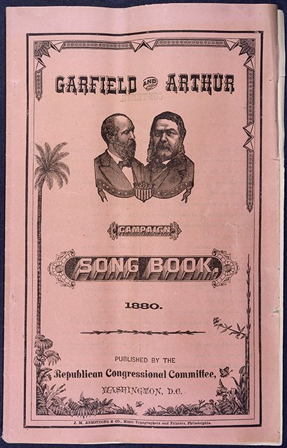 Campaign music helped James Garfield win the presidency in 1880. #MusicMW #RecordsSearch #HouseRecords #MuseumWeek https://t.co/OXffhg3wjV https://t.co/zISJ52PYBM
