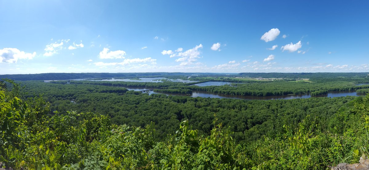 #Wyalusing is celebrating its 100th anniversary as a state park this year. Girl, you look good. #ontheroad <br>http://pic.twitter.com/WtvzZY1Bs9 &ndash; bij Wyalusing State Park