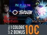 1 colore due bonus SNAI