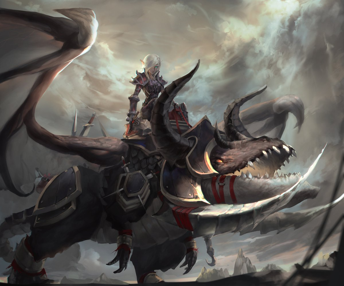 Wow Warrior Art
