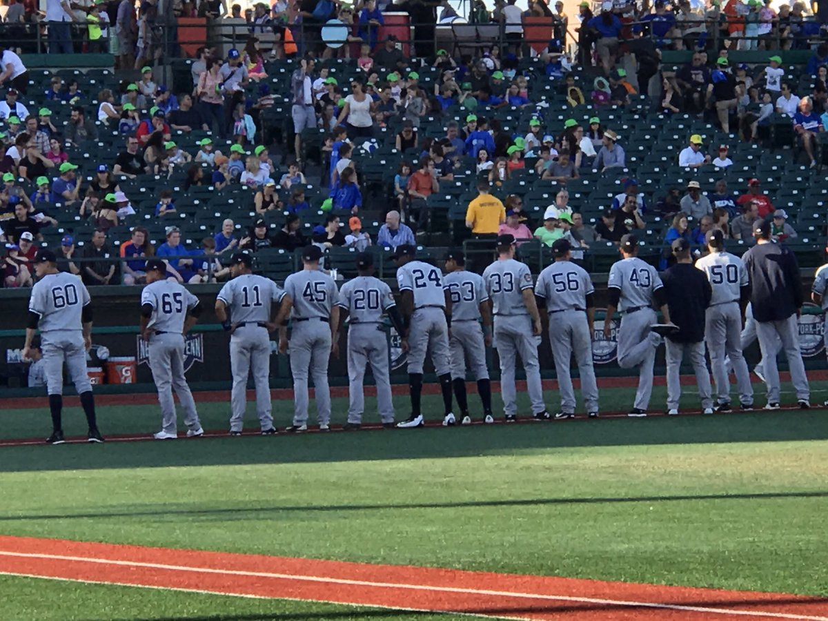 a64a0572d A player for the Mahoning Valley Scrappers was missing his Chief Wahoo  patch on his sleeve last night. This is what the jerseys is supposed to look  like ...