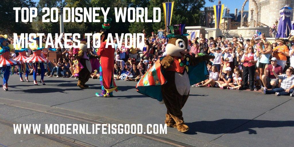 The 20 Biggest Disney World Mistakes  http://www. modernlifeisgood.com/2017/04/18/20- disney-world-mistakes-avoid/ &nbsp; …  … … … #orlando #familytravel #wdw #disneyworld #travel #disneyside #Travel<br>http://pic.twitter.com/q39ZlyYVyC