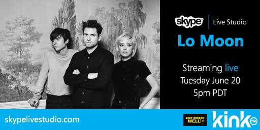 Don't miss @lomoon today 8pET/5pPT @SkypeLiveStudio Watch: http://www.skypelivestudio.com/  @kinkradio @KeepOregonWell #CloserWithSkype #ThisIsIt 🎶