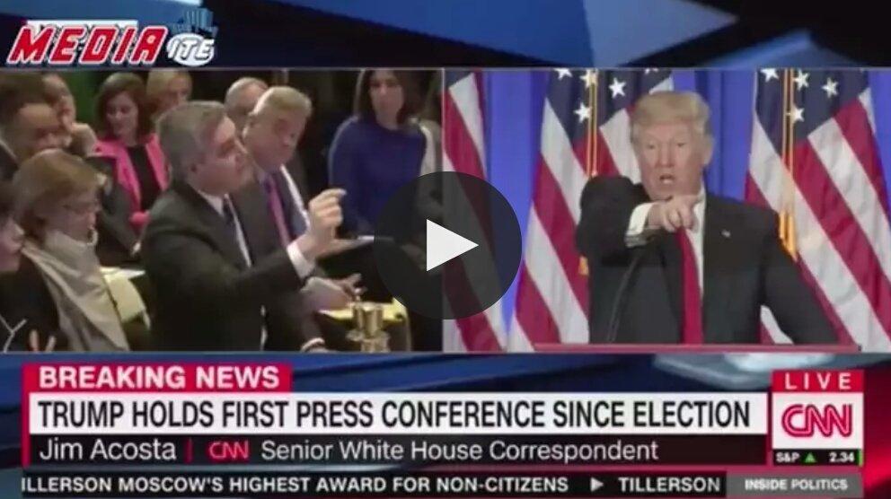 CNN Trump-hater poll has shocking result for network | Trump holds first Press Conference  http:// po.st/xqNjSK  &nbsp;   #WND #TrumpPressConference <br>http://pic.twitter.com/qEqvekiq1F