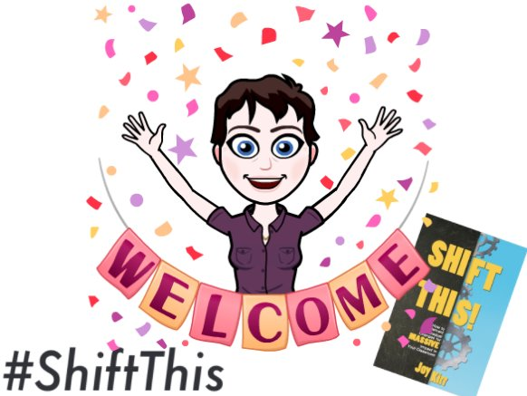 Welcome to #ShiftThis! Tonight we talk about shifting grading, and also social media. Tell us who you are & your favorite social media tool! https://t.co/0hvWhX3izW