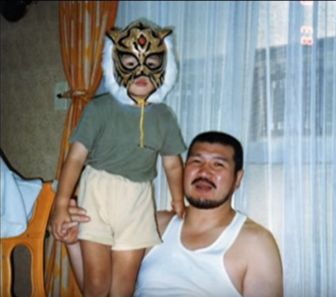 The prophecies say Shibata will be the next Tiger Mask W. According to the Mayans, the injury is a work. Photo evidence. Source: Alex Jones