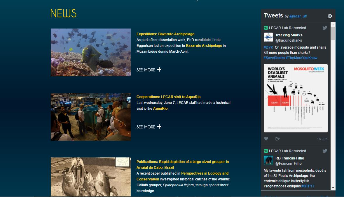News on the LECAR website. Check at  http://www. lecar.uff.br / &nbsp;   #expeditions #cooperations #publications <br>http://pic.twitter.com/8eTlUU1eIA