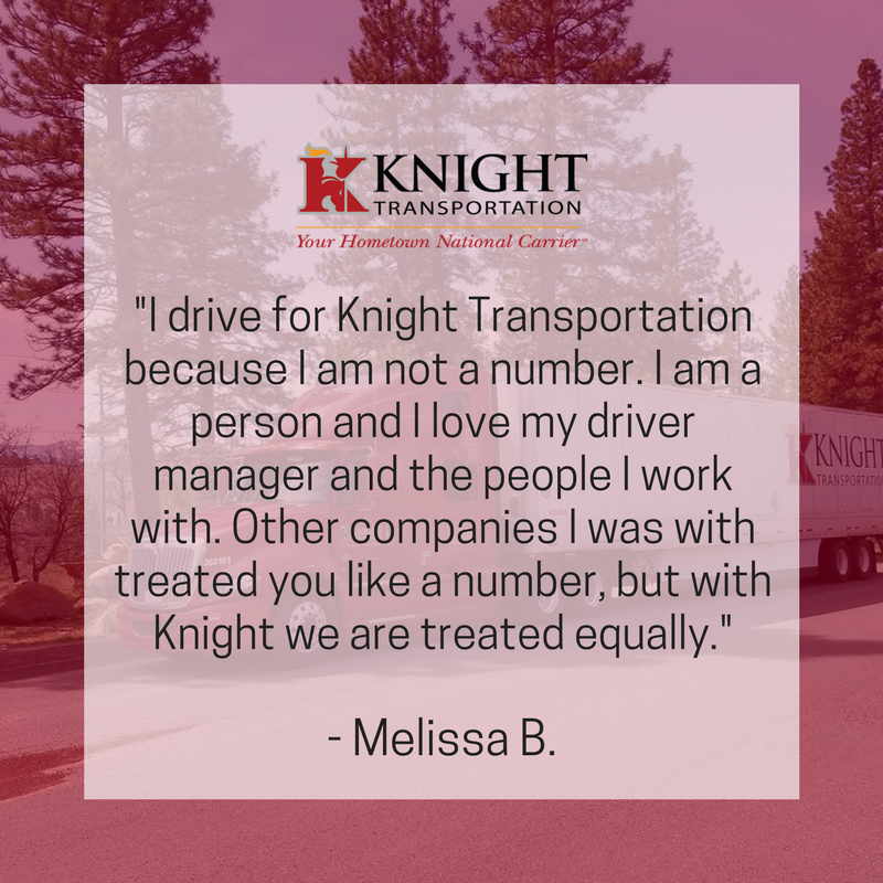 driveknight on twitter thank you for the kind words melissa