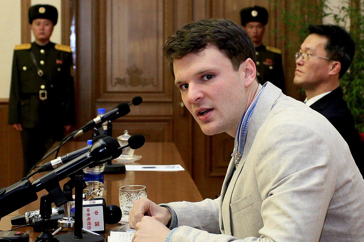 EUA. Família de americano morto após ficar preso na Coreia do Norte recusa autópsia. Leia mais: https://t.co/6c3nLEwOtF