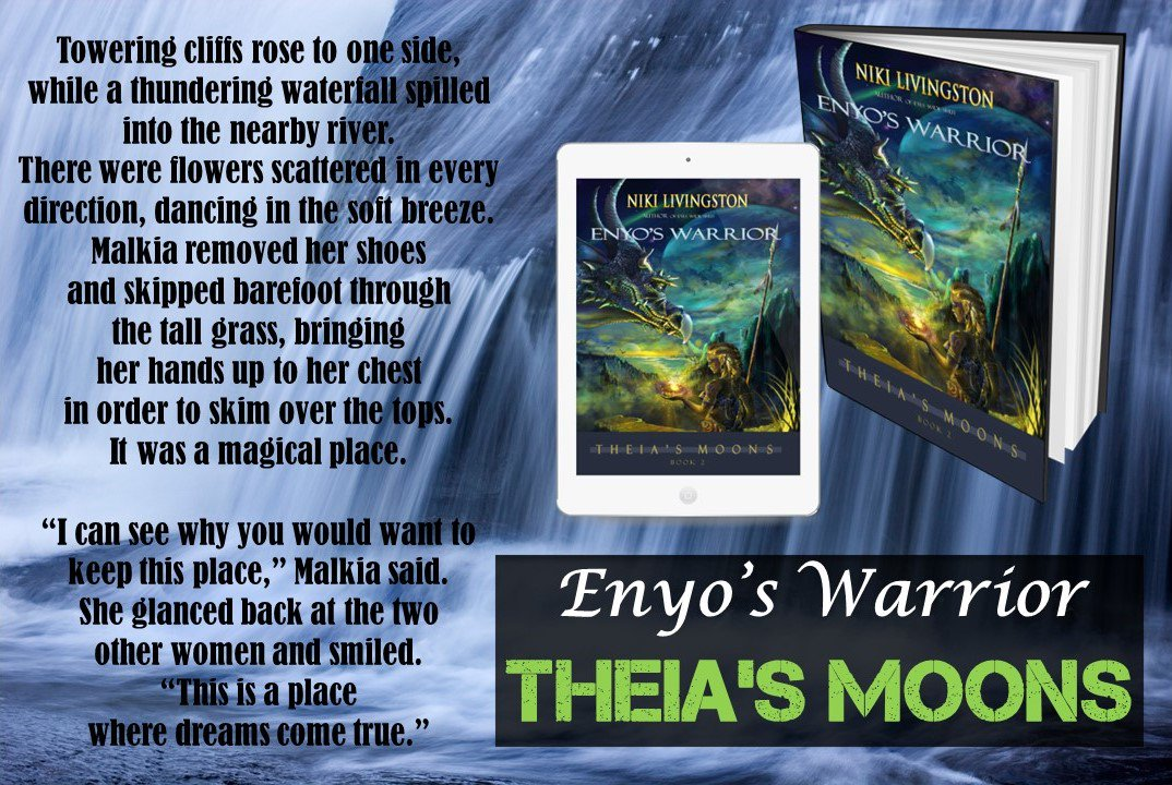&quot;This is a place where dreams come true.&quot; -Enyo&#39;s Warrior   https://www. books2read.com/u/4AgrAd  &nbsp;    #bibliophile #fantasyfiction #reading #booklovers #book<br>http://pic.twitter.com/VtQrV3sgbf
