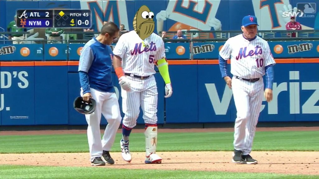 Looks like the Mets pick is working out as expected thus far! #Fred #MyLeg<br>http://pic.twitter.com/JYnqRCQvi1