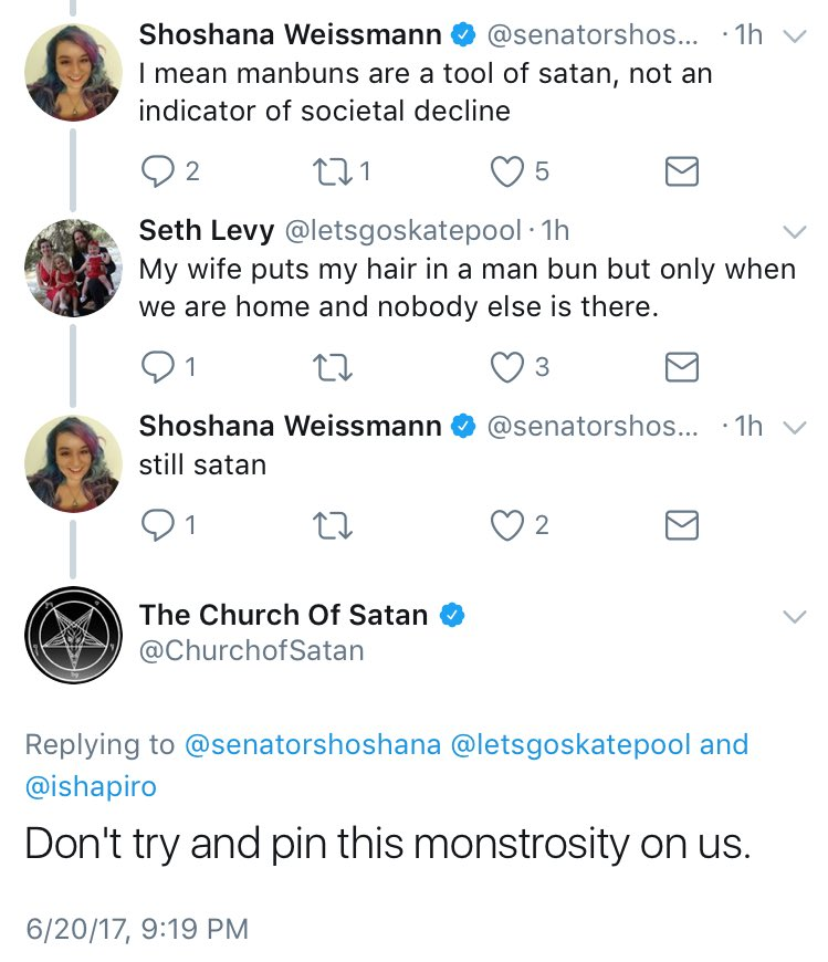 when you've lost the church of satan