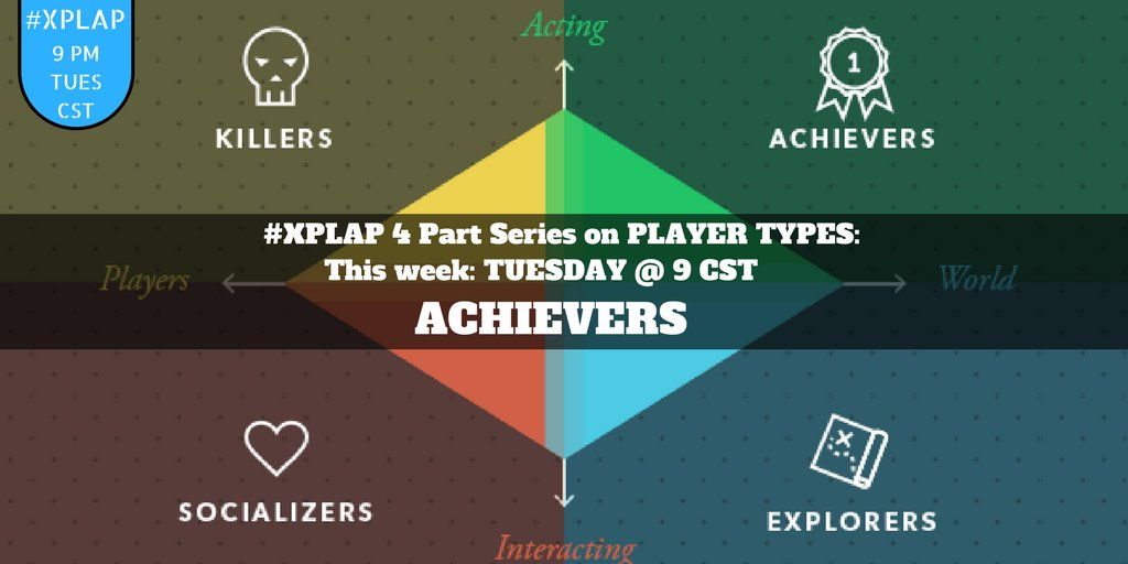 Welcome to #XPLAP ! Tonight we are talking about the achievers in your game! Introduce yourself & share how you are kicking off summer! https://t.co/AbPOWaMuaL