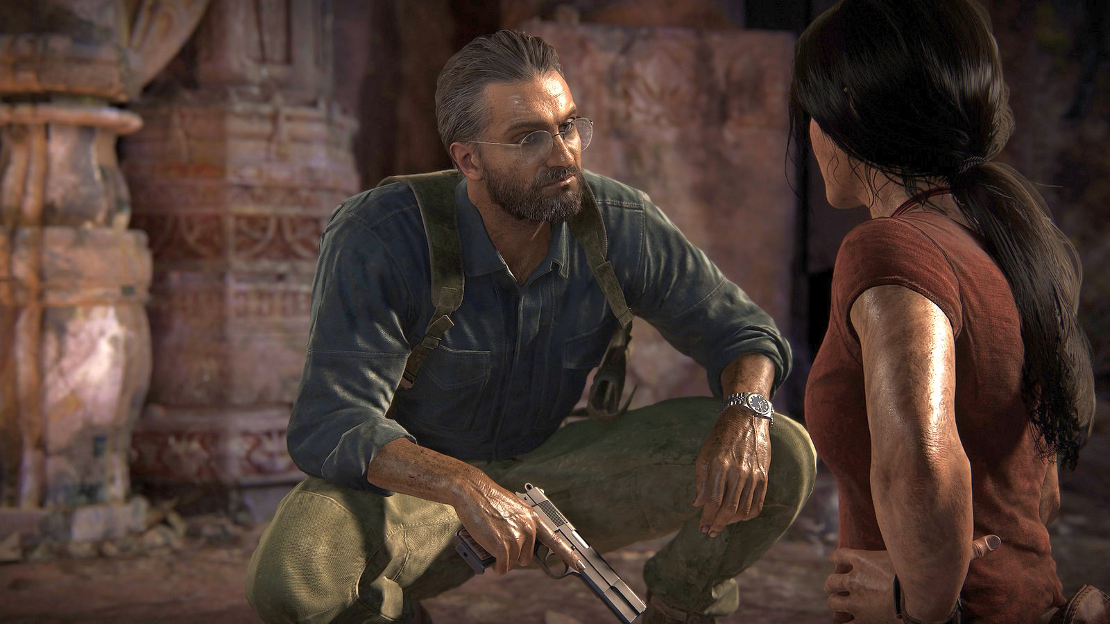 Uncharted The Lost Legacy Gameplay