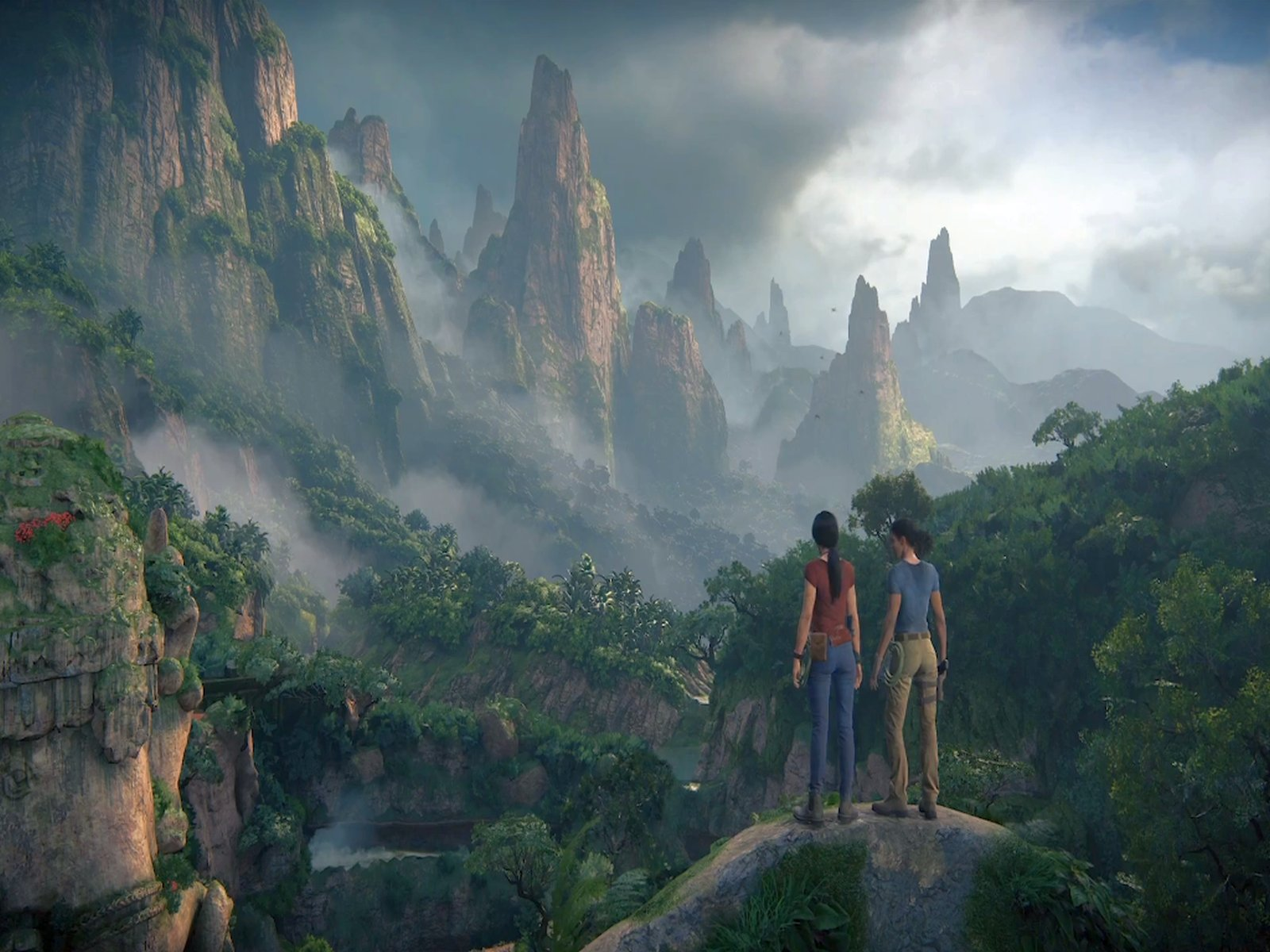 E3 2017: Uncharted The Lost Legacy Extended Gameplay Walkthrough