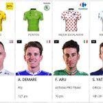 #TDF2017 Estos son los nuevos portadores de los maillots Froome, Démare, Aru y Yates