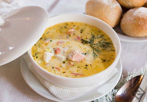 Рыбный суп рецепты