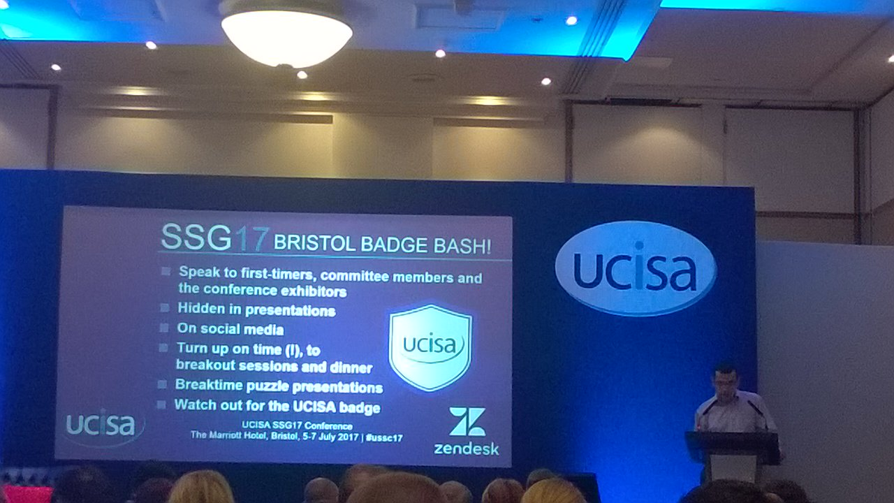Looking forward to an 'element of fun' with gamification at #ussc17 