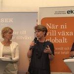 För att bevara svensk konkurrenskraft behövs en stark svensk exportindustri - stödet för bolagen är avgörande, avslutar Ylva Berg #Almedalen