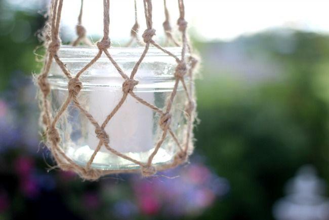 Jute String Lanterns