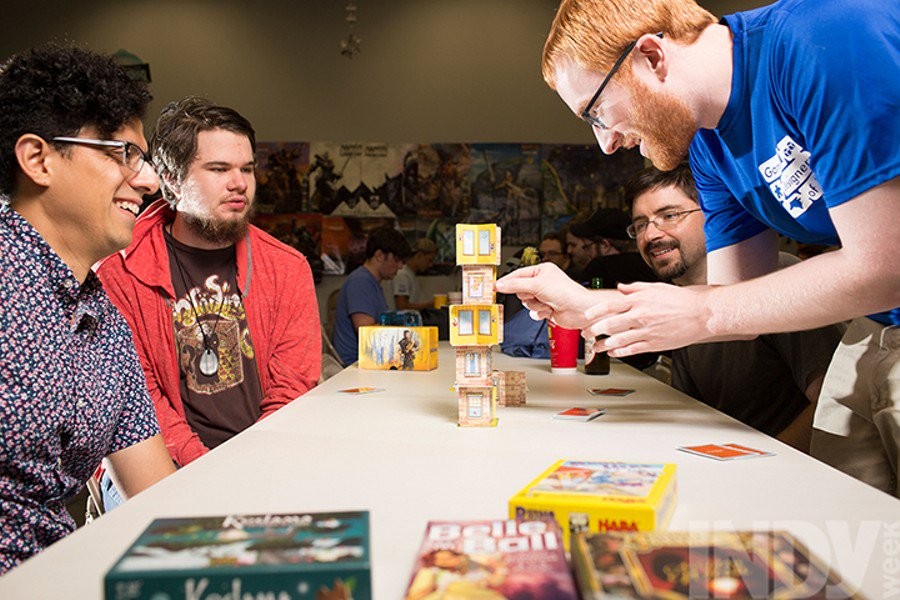 Triangle games community featured in Indy Week!