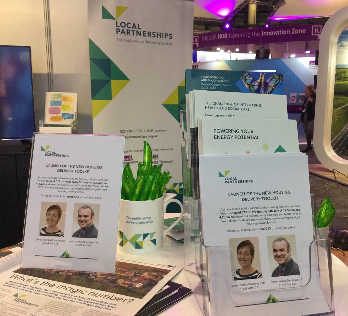 Missed our #housing toolkit launch earlier? See it again at 4.20pm-stand C13 #LGAConf17