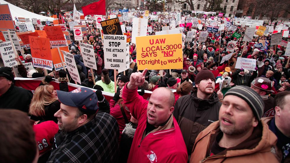 michigan right to work