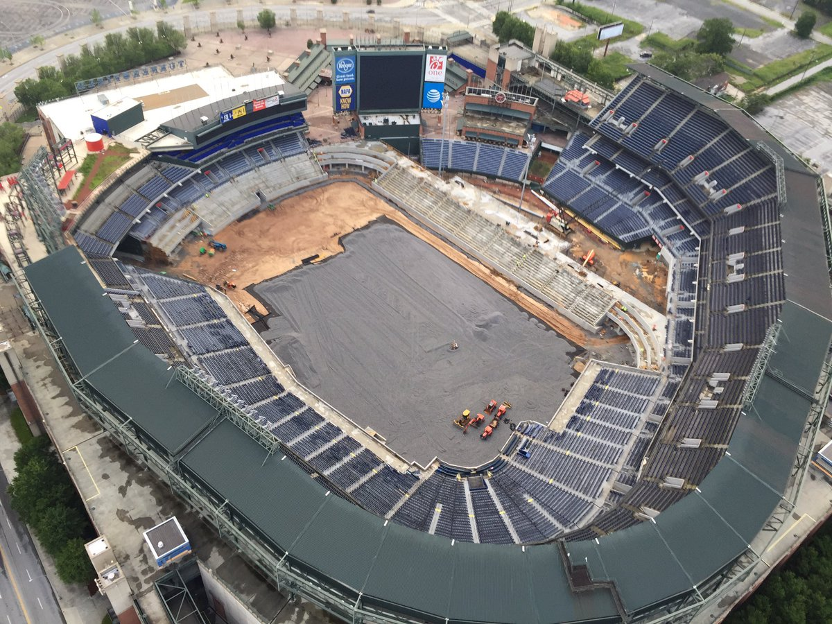 By request:  future football home on Monday July 3rd. Busy down there!  SkyCopter  Capt'n Cam view