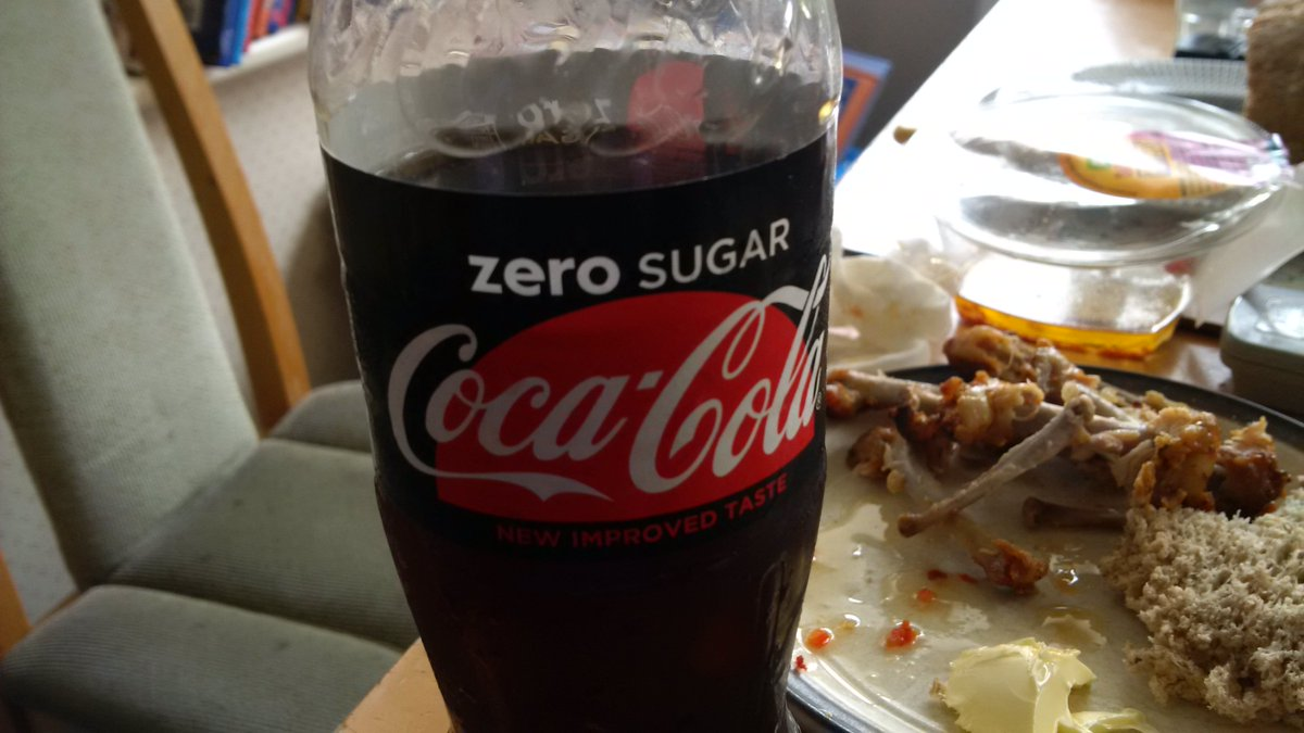 ASDA, Ferring... bought my lunch at your store today. Chicken was lovely, but my Coke Zero was off. #stockrotation https://t.co/sv3ohd2XjB