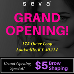 Congratulations to our latest #SevaBeauty studio Grand Opening located at 175 Outer Loop Louisville, KY 40214