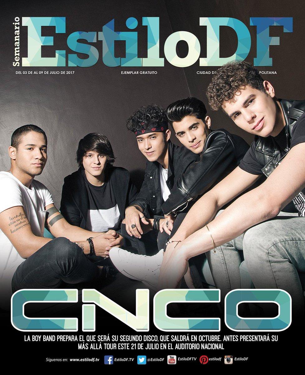 ¡Hoy es lunes de #EstiloDF! En portada: @CNCOmusic La boy band prepara su segundo disco, que saldrá en octubre.