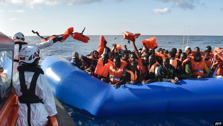 Nigerians are now said to be the top nationality rescued after attempting to cross the Mediterranean Sea 📻 https://t.co/uagBqZ659E