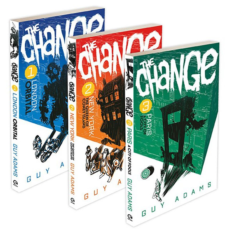 Image result for the change guy adams