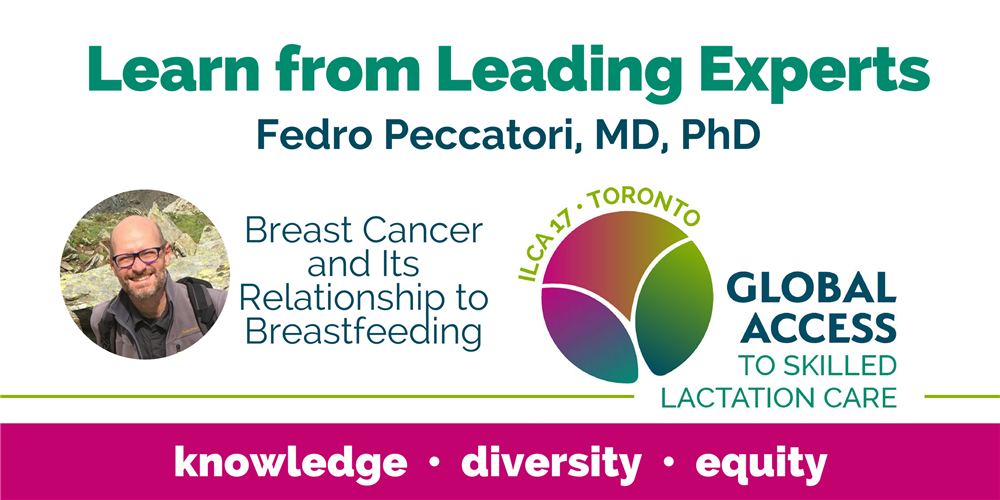 Fedro Peccatori, MD, PhD (Italy) on Breast Cancer and Its Relationship to Breastfeeding at #ILCA17! https://t.co/x9jfiNSYPv https://t.co/zInfCEgmNJ
