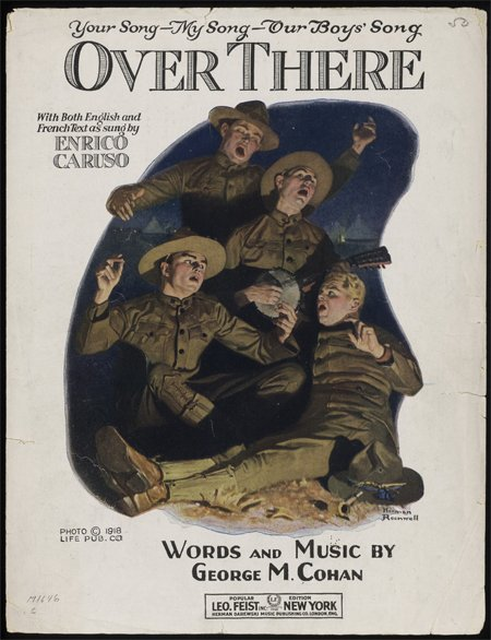 Today in History: George M. Cohan - these #primarysources really sing! https://t.co/wWJqGF595Q #tlchat #sschat #artsed #musiced #edchat https://t.co/yBsyMVoKLs