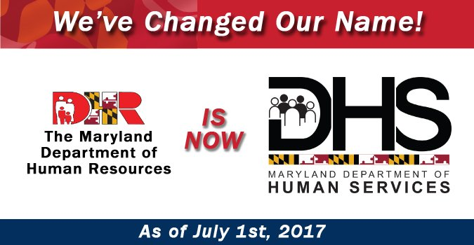 Md  Department of Human Services on Twitter: