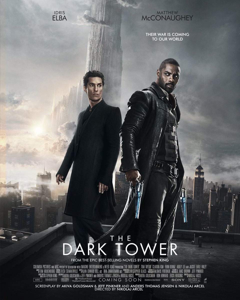 Image result for dark tower movie posters
