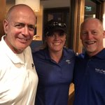 Ed & Don w/USMC 2nd Lt. Annie Berry @SemperFiFund golf sponsored by Enviremedial Services. Thanks to our co-supporters Harrington Plastics!