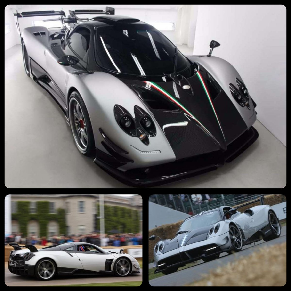 "nik j miles on twitter: ""@pagani #zonda 760 rs has 2, 7.3ltr v12s 24"