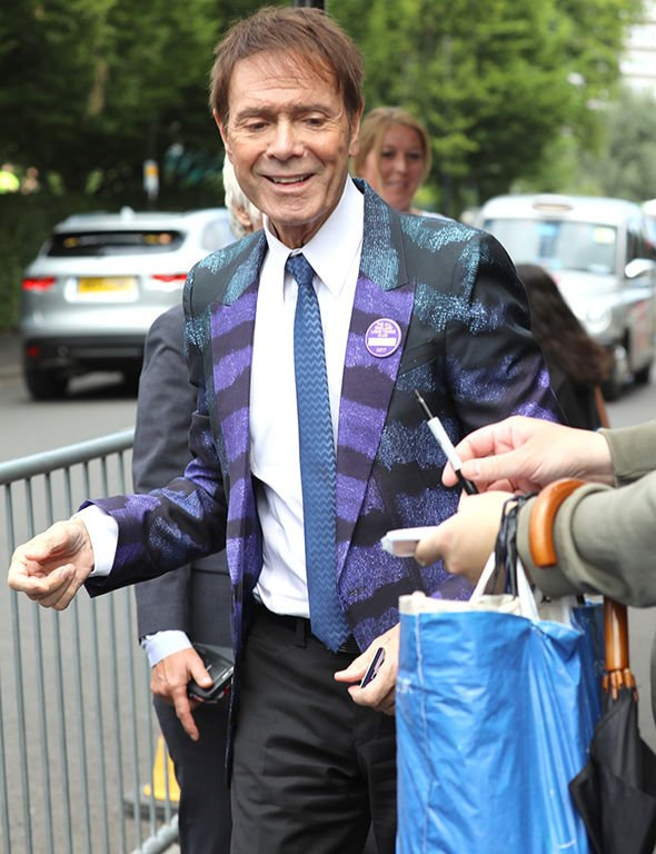 Cliff Richard News on Twitter: Cliff Richard today at day
