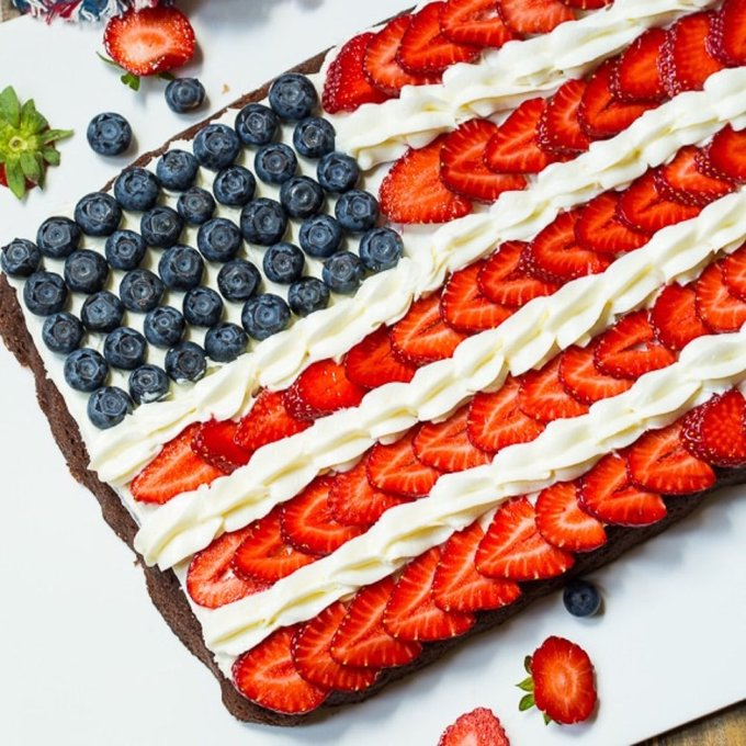 Red, White, and Blueberries: 13 Star-Spangled Chocolate Desserts